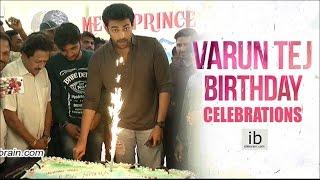 Varun Tej Birthday 2017 celebrations - idlebrain.com - IDLEBRAINLIVE