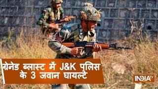 J&K: Terrorists Hurl Grenade On Security Forces In Srinagar, 3 Policemen Injured - INDIATV