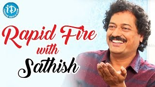 Rapid Fire With Writer & Director Satish Vegesena || Talking Movies With iDream - IDREAMMOVIES