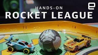 Hot Wheels Rocket League RC Rivals Set hands-on - ENGADGET