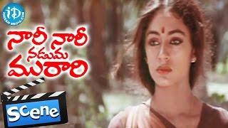 Nari Nari Naduma Murari Movie Scenes - Shobana Leaves Sharada's Home - IDREAMMOVIES