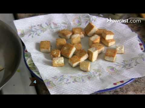 How to Fry Tofu