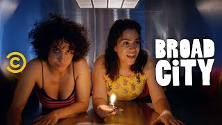 Abbi and Ilana Try to Crash a Lil Wayne Concert - Broad City - COMEDYCENTRAL