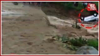 शिमला में 100 सालों में ऐसी बारिश नहीं देखी! बाढ़ से हाईवे ट्रैफिक ठप, 8 जिलों में अलर्ट - AAJTAKTV