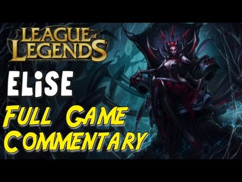 League of Legends - Elise Top AP Bruiser vs Pantheon - Full Game Commentary #2