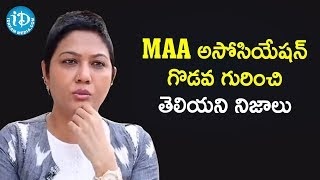 Actress Hema about MAA Association Controversy | Frankly With TNR | Celebrity Buzz With iDream - IDREAMMOVIES