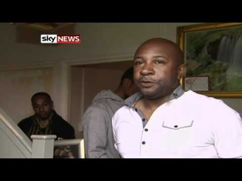 London Riots Exclusive: Shot Man's Brother Condemns Violence