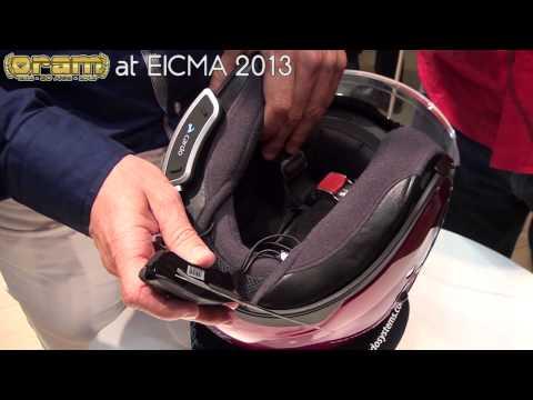 Oram @ EICMA 2013: CARDO SHO-1 NEW Shoei Communication System - ENGLISH VERSION