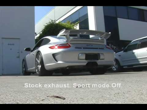 SharkWerks 2010 Porsche 997 GT3 with SharkWerks Exhaust System