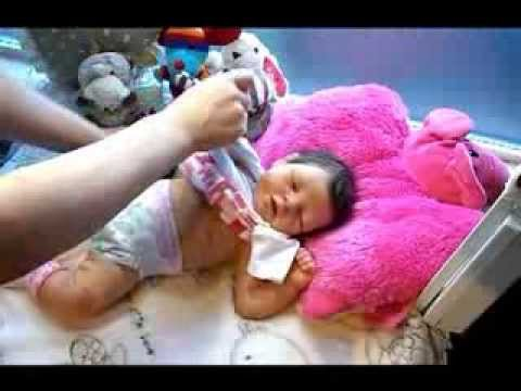 Emily Rose full body silicone baby doll