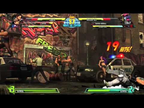 Marvel vs Capcom 3 SENTINEL Gameplay 2