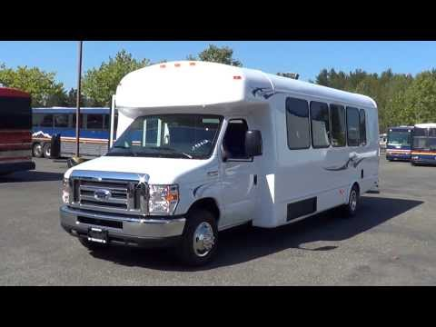 Northwest Bus Sales - NEW 2013 Ford Starcraft 24 Passenger Rear Luggage Bus For Sale - S93313