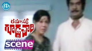 Rahasya Gudachari Movie Scenes - Annapurna Supports Her Husband Satyanarayana || Krishna - IDREAMMOVIES