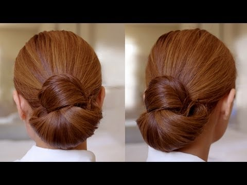Hair Tutorial: Easy Elegance Hair Bun