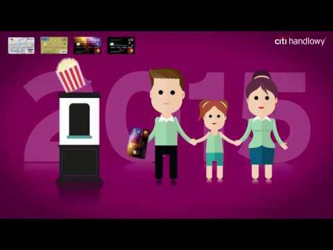Zobacz historię karty kredytowej Citi Handlowy, która ma już 20 lat!