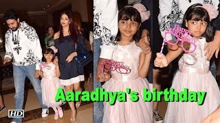 Aishwarya-Abhishek celebrate daughter Aaradhya's birthday - BOLLYWOODCOUNTRY