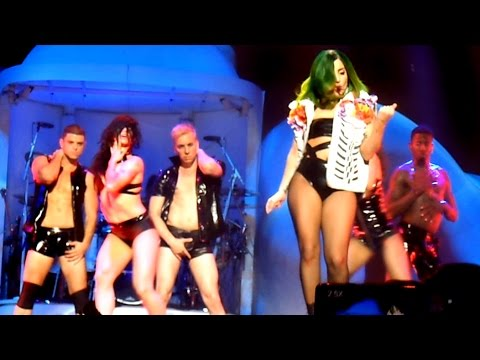 Lady Gaga - SEXXX DREAMS LIVE at ARTRAVE @ HOUSTON TOYOTA CENTER JUL 16, 2014