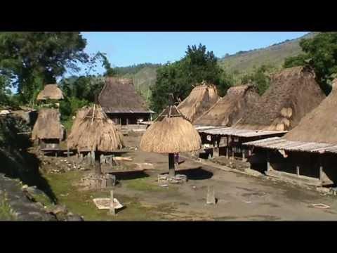 INDONESIA Kalongs at Riung & Ngada people of Bajawa, Flores (sd-video)