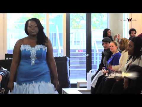 Butterflymodels - The Mahogany Bridal Show 2012