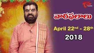 Rasi Phalalu | April 22nd to April 28th 2018 | Weekly Horoscope 2018 | TeluguOne - TELUGUONE