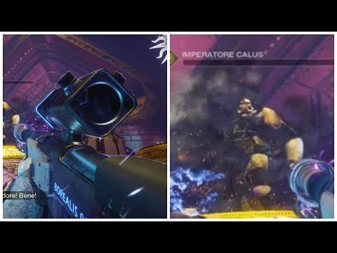 #MOTW calus ONE PLATE  kill ONLY borealis