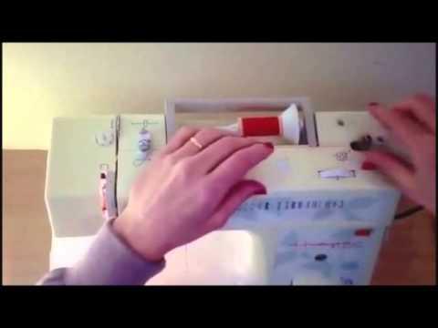 Dicas de Costura:passar o fio na maquina de costura.