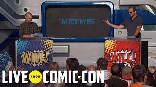 Live From Comic-Con | Will Forte vs. Will Arnett | Syfy - SYFY