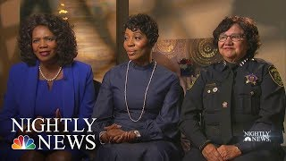 Brass Ceiling: Dallas Has Three Women In Top Law Enforcement Jobs | NBC Nightly News - NBCNEWS