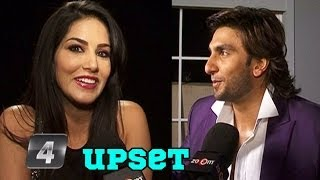 Sunny Leone Upset with Ranveer Singh for endorsing condom brand