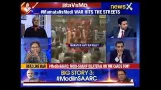 Nation at 9: #MamataVsModi - Didi dares Centre to arrest her - NEWSXLIVE