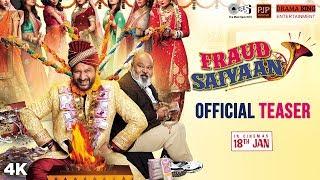 Fraud Saiyaan Official Teaser | Arshad Warsi, Saurabh Shukla, Sara Loren | Prakash Jha | 18 Jan 2019 - TIPSMUSIC