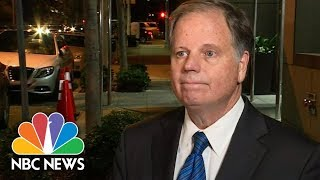 Roy Moore's Opponent Doug Jones Focused On Alabama Issues | NBC News - NBCNEWS