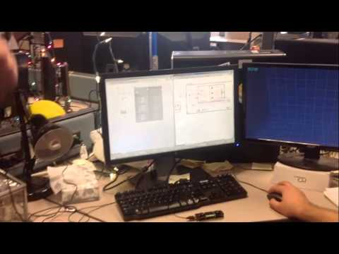 Leap and LabVIEW Controlled Quadrotor