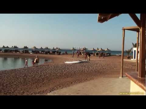 Хургада, пляж отеля Coral Beach Rotana Resort