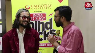 Bhuvan Bam | BB Ki Vines | Interview | Mind Rocks 2018 | - AAJTAKTV
