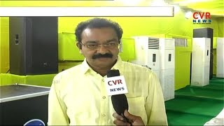 All Sets for TDP Dharma Porata Deeksha in Vizianagaram | CVR News - CVRNEWSOFFICIAL
