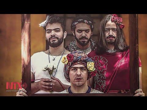 Hombres en Brasil posan como Frida Kahlo