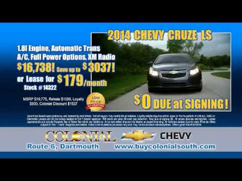 Colonial South Chevrolet Construction Spring Sale Event