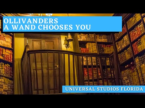 Ollivanders - A Wand Chooses You at Islands of Adventure