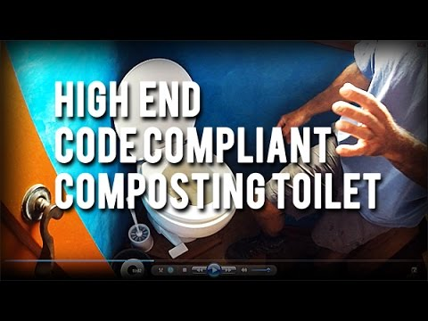Permaculture Tip of the Day - High End Code Compliant Composting Toilet