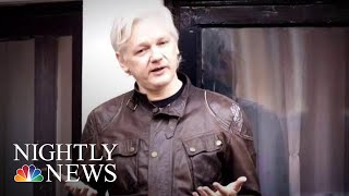 Justice Dept Files Undisclosed Criminal Charges Against Wikileaks Founder Assange | NBC Nightly News - NBCNEWS