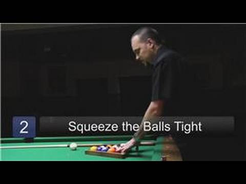 Billiards Lessons : How to Rack Pool Balls