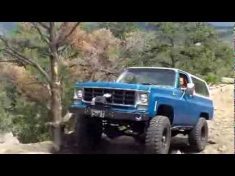 K5 blazer's on Chinamen Trail