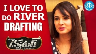 I Love To Do River Drafting - Sonal Chauhan || Talking Movies with iDream - IDREAMMOVIES