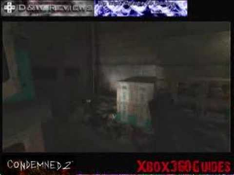 Condemned 2 Bloodshot Guide Doll Factory Part 1