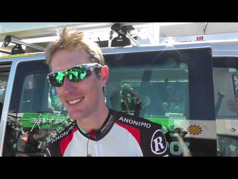 Andy Schleck of RadioShack at the Tour Down Under 2013