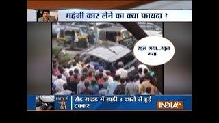 TV actor Sidharth Shukla rams his BMW into divider, 3 injured - INDIATV