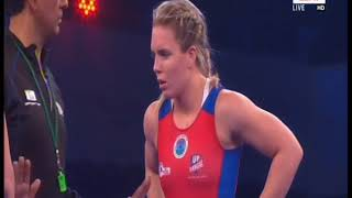 PWL 3 Day 11: Vasilisa Marzaliuk Vs Zsanett Nemeth at Pro Wrestling League 2018   Full Match - ITVNEWSINDIA
