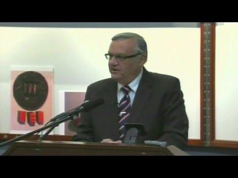 Przemówienie Arpaio