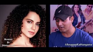 Anupam Kher ROCKS In 'Diaries Of Superstars' Segment | SRK | Salman | Aamir | Ranveer | Deepika - HUNGAMA